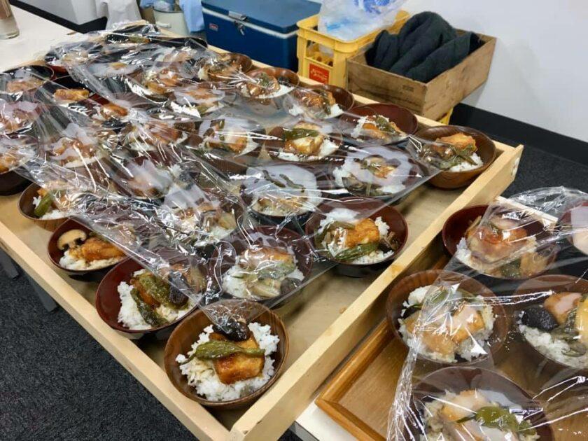 白浜豆腐工房さんの揚げ出しミニ丼。超美味しそうだった。
